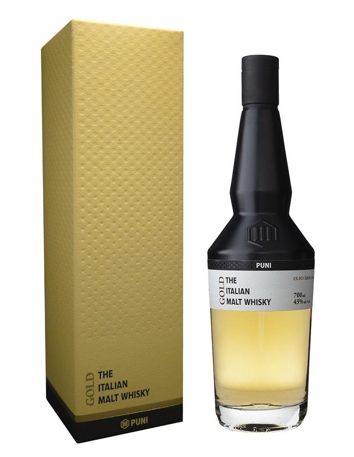 PUNI Gold 43% | Whisky Italien
