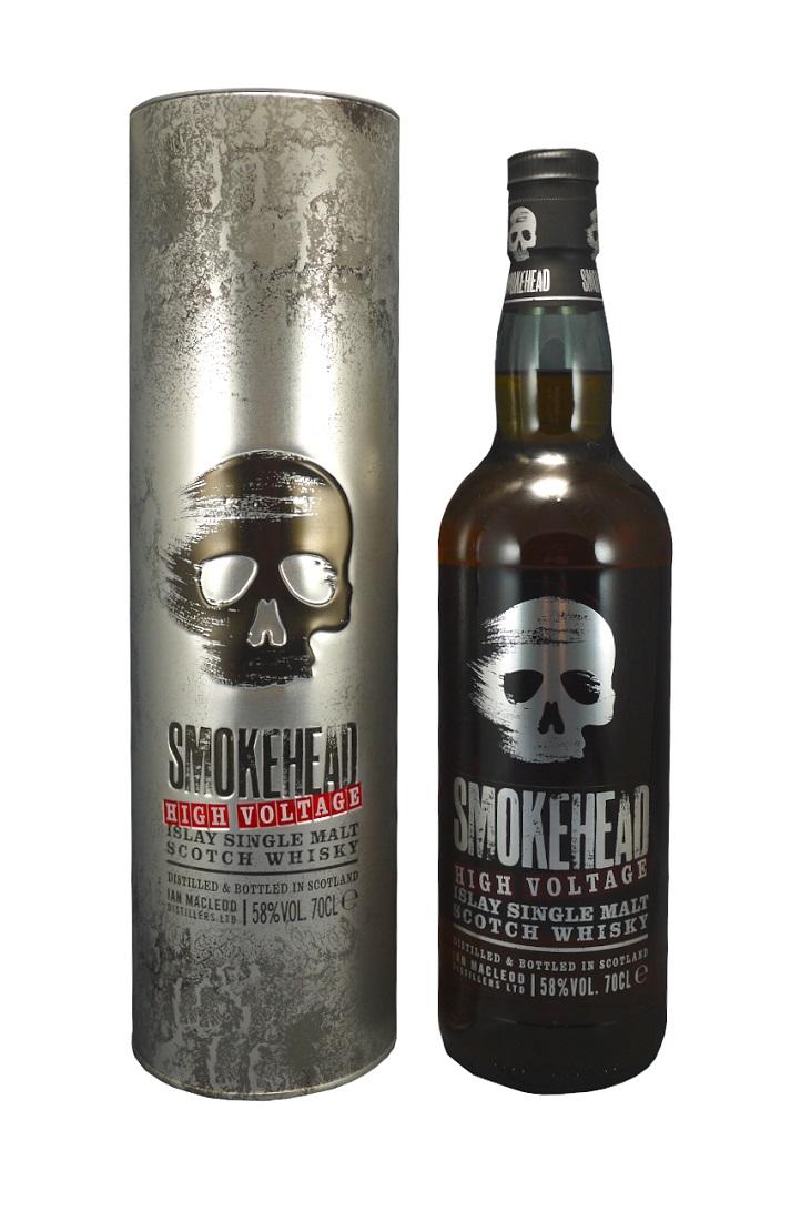SMOKEHEAD High Voltage 58% | Whisky Très Tourbé | Single Malt Whisky