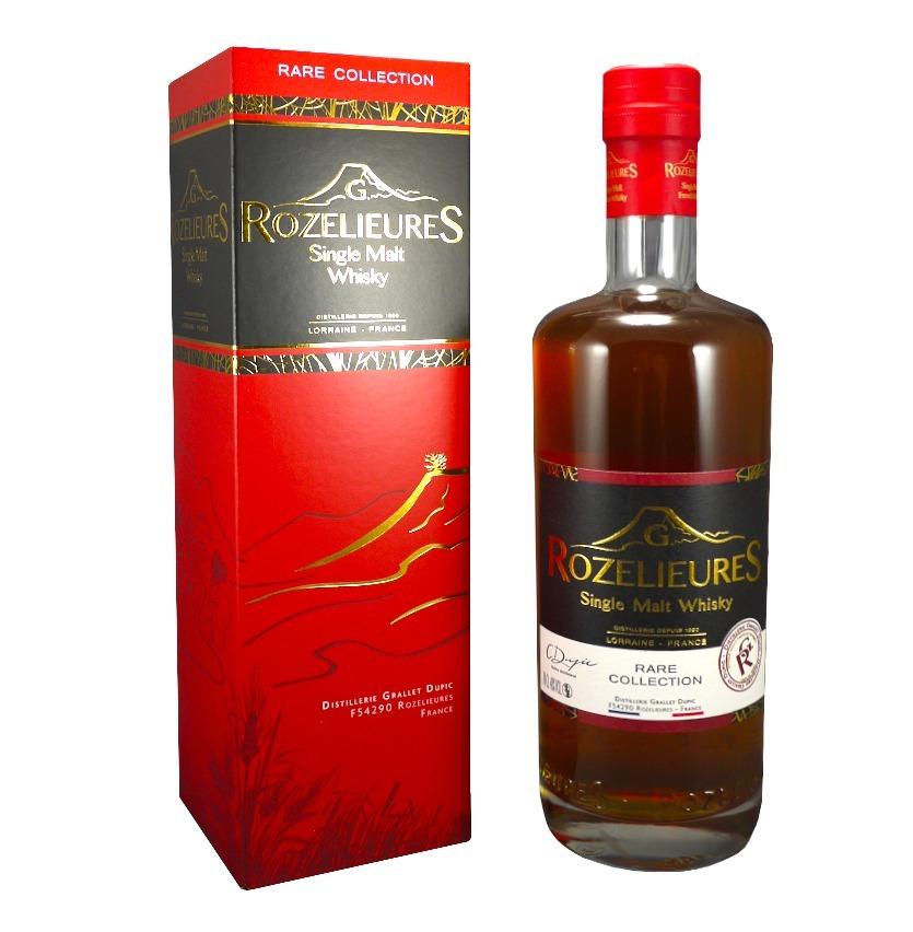 ROZELIEURES Rare Collection 40% | Whisky de Lorraine