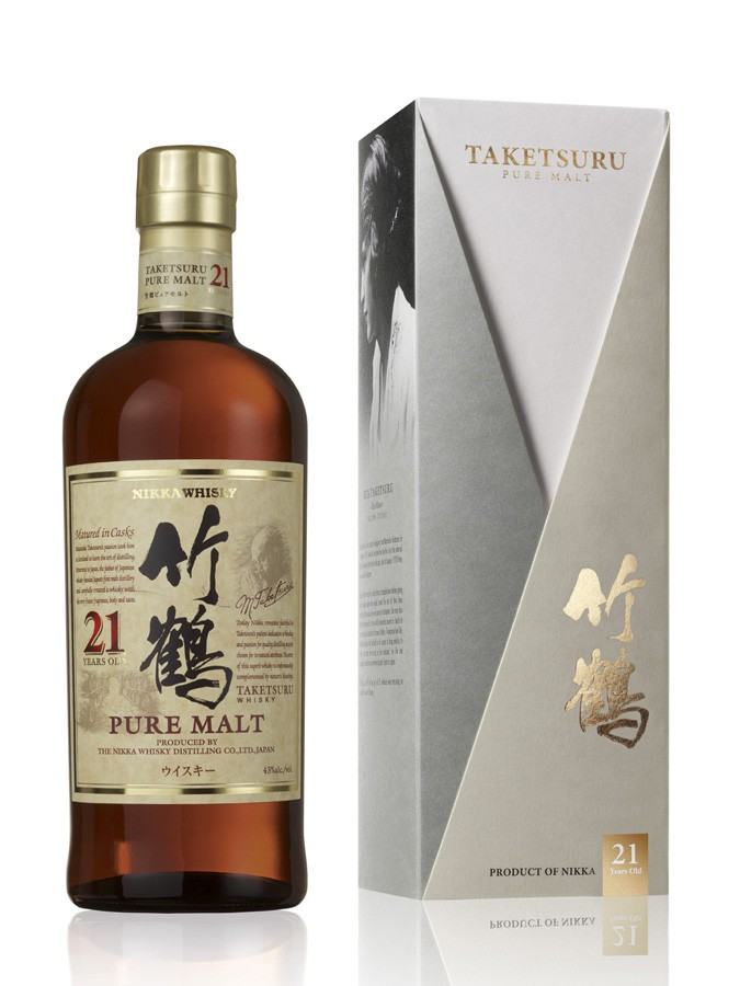 NIKKA 21 ANS TAKETSURU whisky japonais