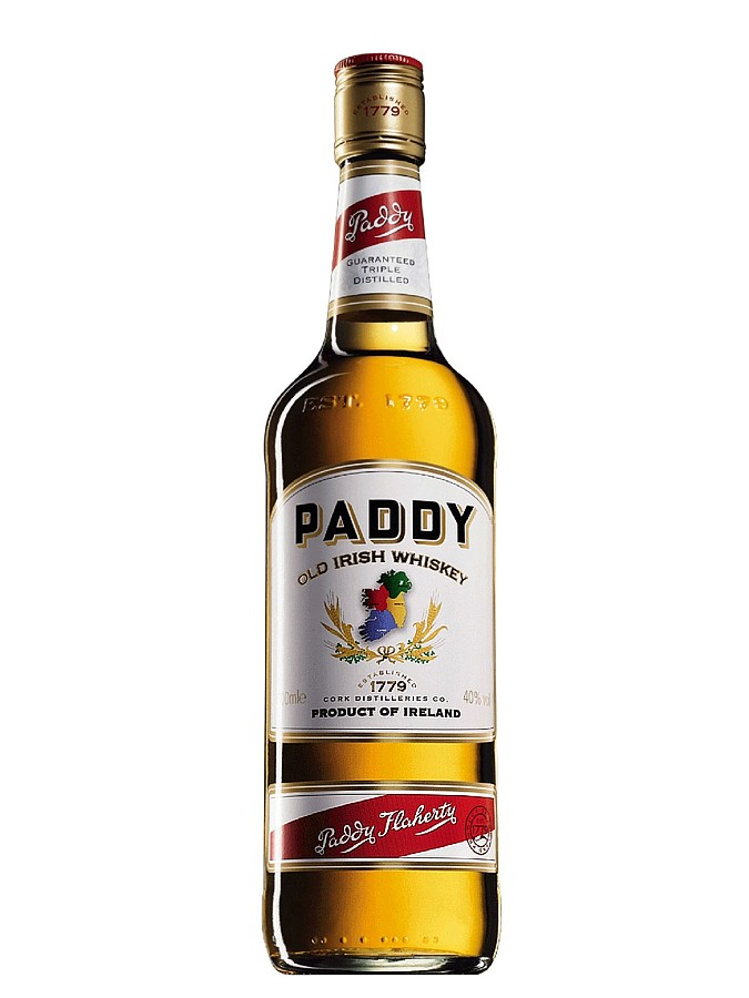 PADDY Whiskey 40% | Whisky Irlandais