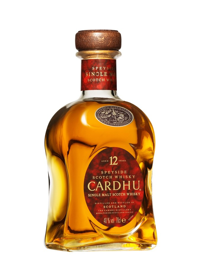 CARDHU 12 ans 40 % | Single Malt Whisky, Speyside