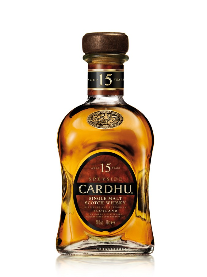 CARDHU 15 ans 40 % | Single Malt Whisky, Speyside