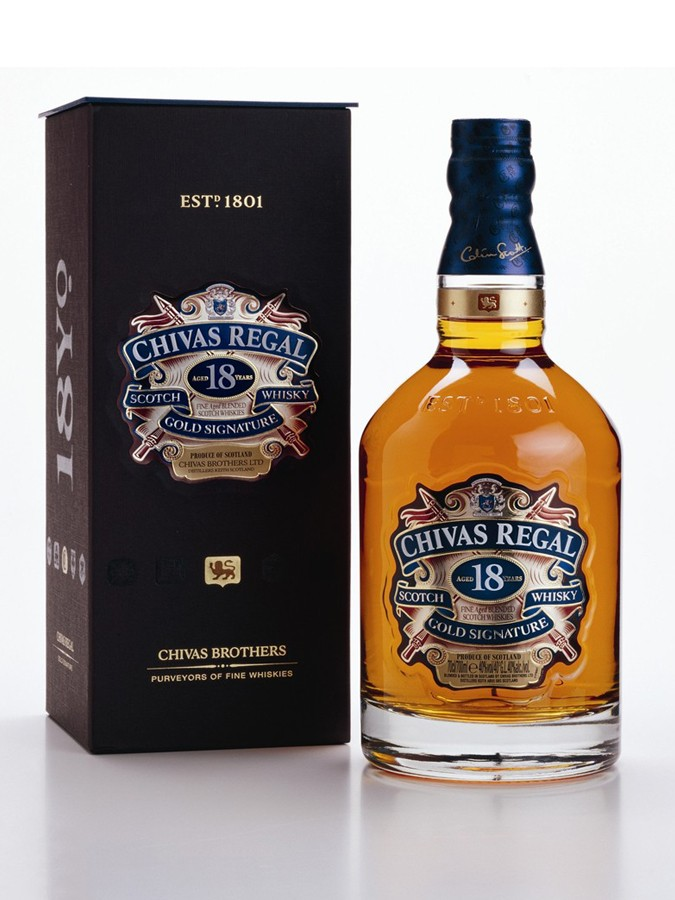 CHIVAS 18 ANS GOLD SIGNATURE whisky