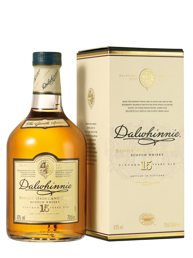 DALWHINNIE 15 ans 43% | Single Malt Whisky, Highlands