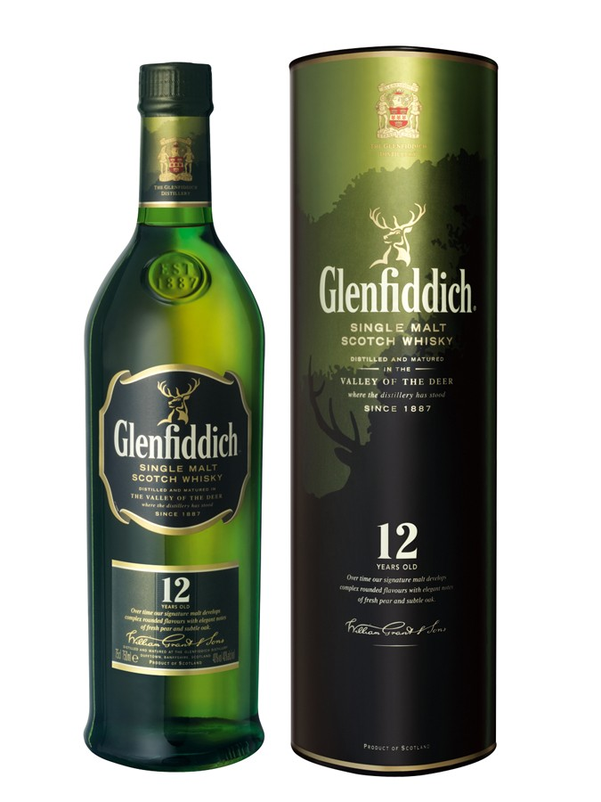 GLENFIDDICH 12 ANS whisky