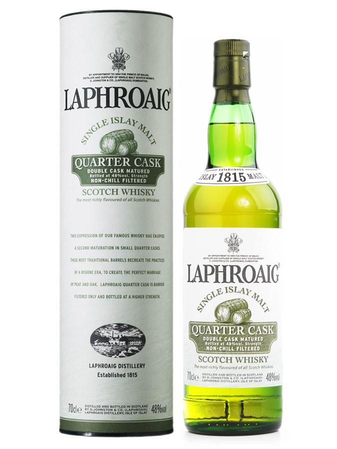 LAPHROAIG Quarter Cask 48% | Whisky Tourbé