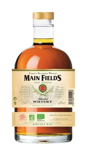 MAIN FIELDS Rare Reserve 40% (Bio) | Whisky Français
