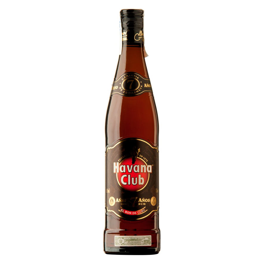 HAVANA CLUB 7 ans 40% | Rhum traditionnel cubain