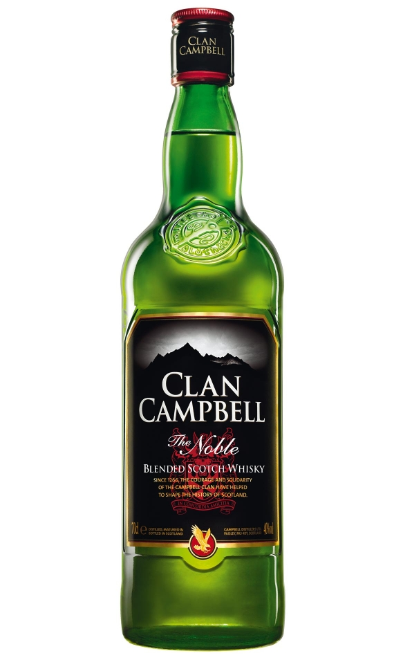 CLAN CAMPBELL 40% | Whisky Blend