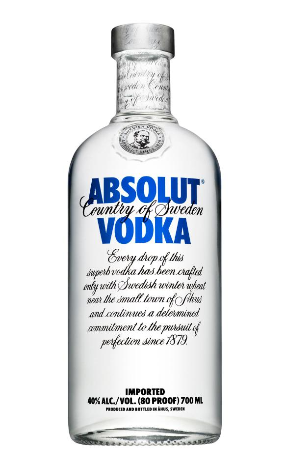 ABSOLUT Blue Vodka Original 40%