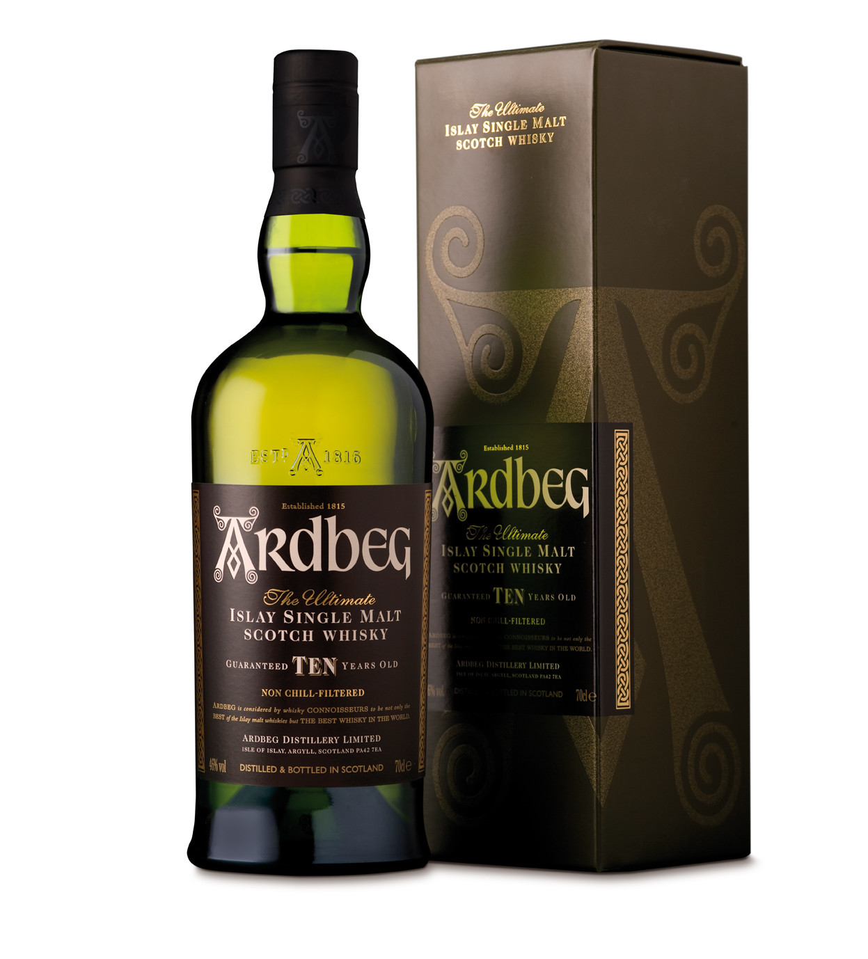ARDBEG Ten 10 ans 46% | Whisky tourbé