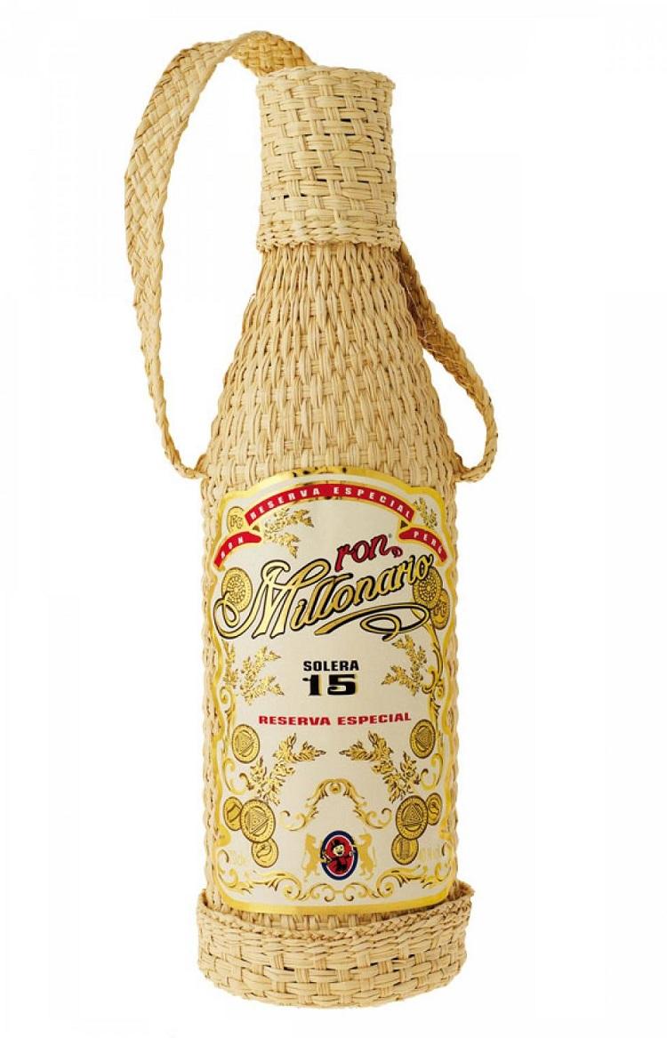MILLONARIO Solera 15 ans 40% | Rhum Traditionnel, Pérou