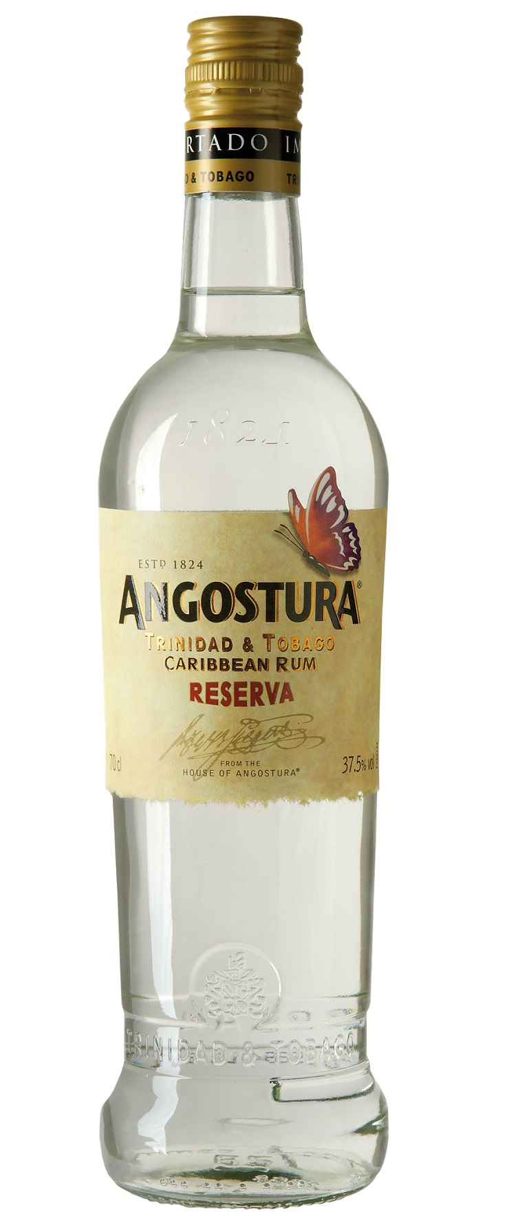 ANGOSTURA Butterfly White Reserve 37,5% | Rhum Traditionnel, Trinidad