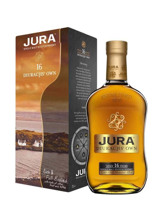 JURA 16 ans Diurachs\' Own 40% | Single Malt Whisky, Highlands