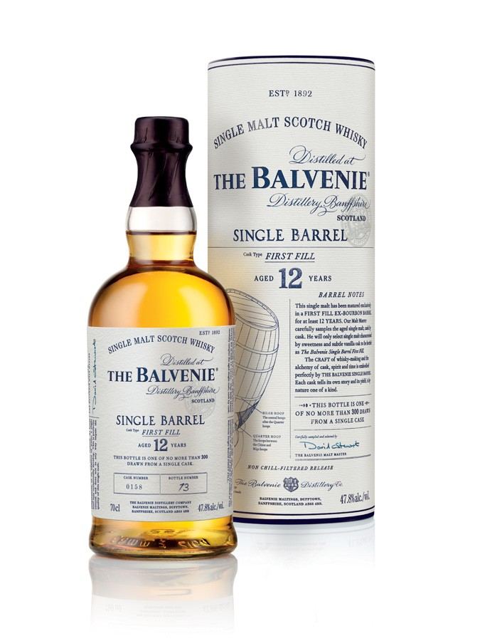 BALVENIE 12 ans single barrel first fill 47,8% | Single Malt Whisky,  Speyside