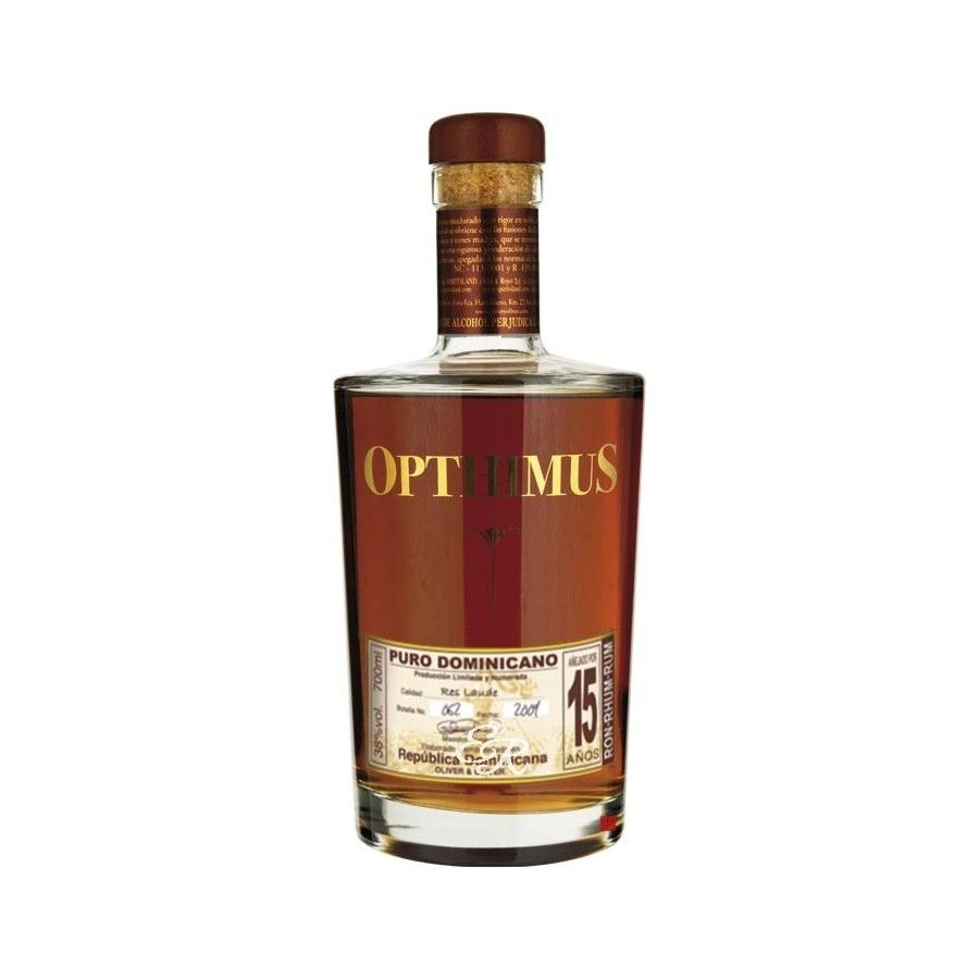OPTHIMUS 15 ans 38% | Rhum Traditionnel, République Dominicaine