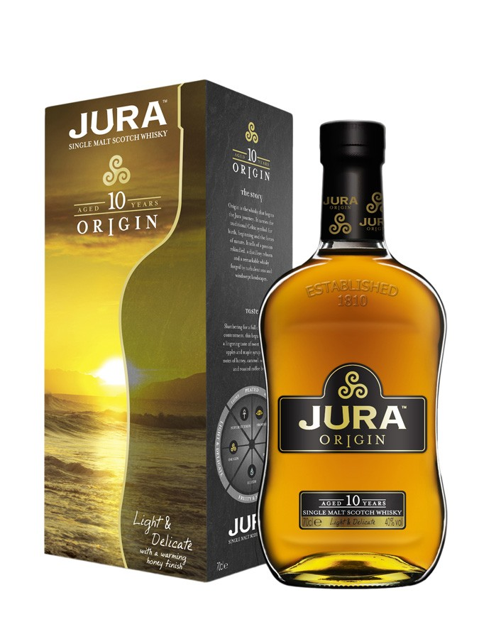 JURA 10 ans Origin 40% | Single Malt Whisky