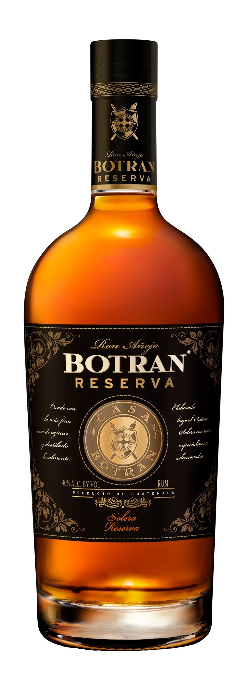 BOTRAN 15 ans Reserva 40% | Rhum traditionnel, Guatemala