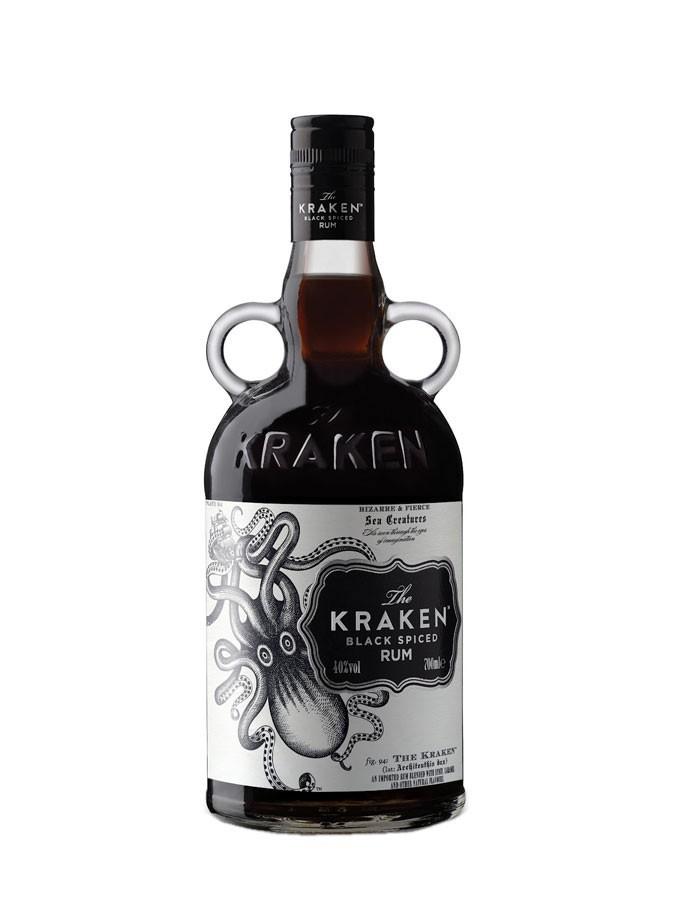 KRAKEN Black Spiced Rum 40%