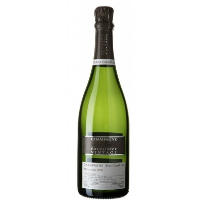 CHAMPAGNE EXCLUSIVE VINTAGE 1998 UC 12,5%