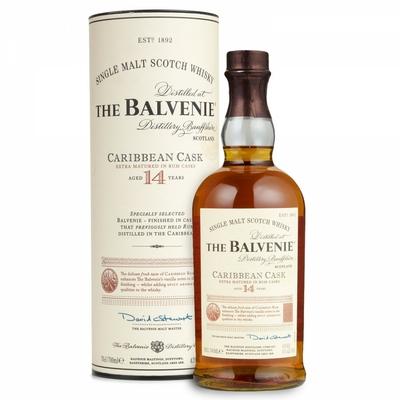 BALVENIE 14 ANS CARIBBEAN CASK 43%