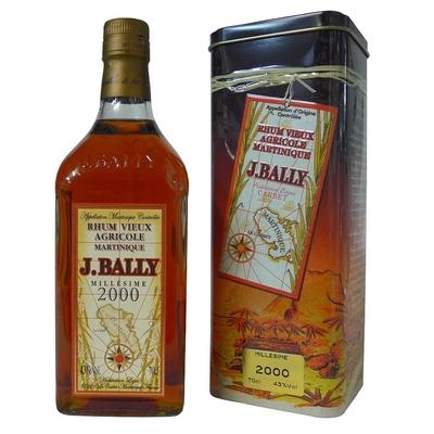BALLY Millésime 2000 43% Rhum