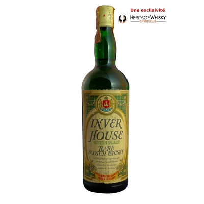 Inver House Green Plaid Rare Scotch Whisky