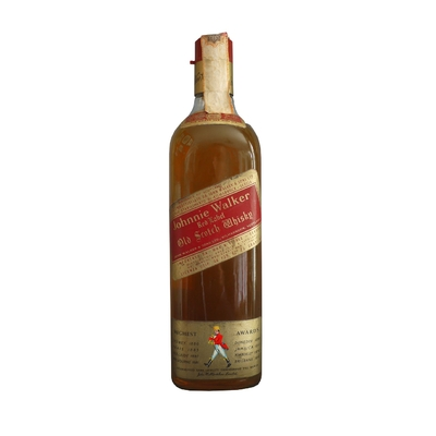 JOHNNIE WALKER RED LABEL 40% (ANNÉE 1970)