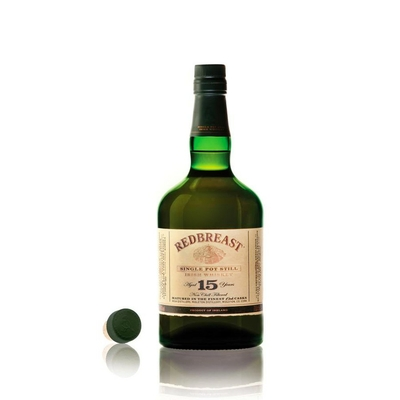 MIDELTON REDBREAST 15 ANS SINGLE POT STILL whiskey
