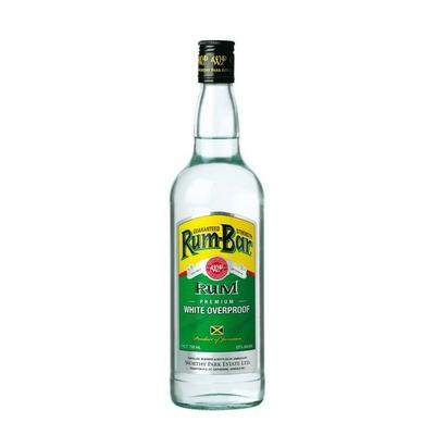 WORTHY PARK Rum Bar White Overproof 63%