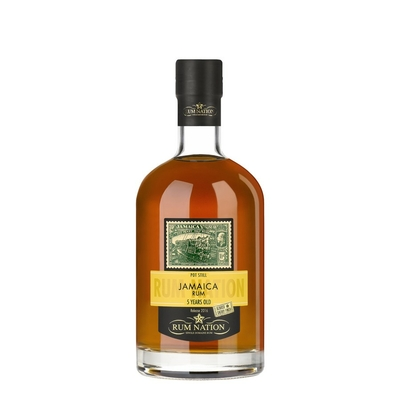 RUM NATION 5 ANS JAMAICA POT STILL SHERRY FINISH OLOROSO 50%