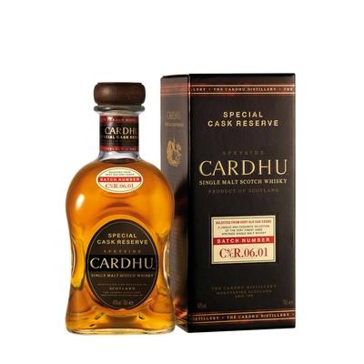 CARDHU CASK RESERVE whisky