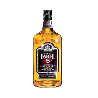 LABEL 5 1L whisky