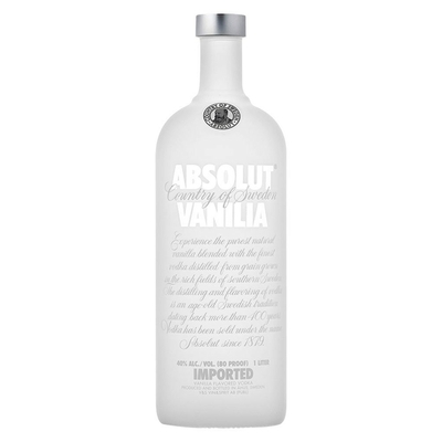 VODKA ABSOLUT VANILLA 40%