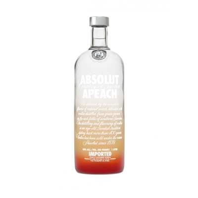VODKA ABSOLUT APEACH 40%