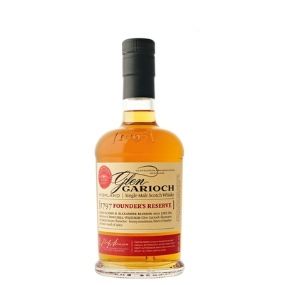 GLEN GARIOCH FOUNDERS RESERVE 1797 whisky