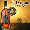 RHUM EL DORADO 8 ANS 40% affiche