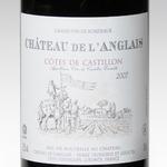 CHATEAU DE L'ANGLAIS Castillon Côtes de Bordeaux 2014 (Cacher)
