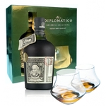 DIPLOMATICO Reserva Exclusiva Coffret + 2 verres
