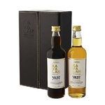 KAVALAN Solist Bourbon & Sherry Coffret en Cuir 2 x 196 ml 57%