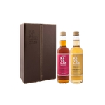 KAVALAN Ex-Bourbon & Sherry Oak Cof. Cuir 2 x 196 ml 46%