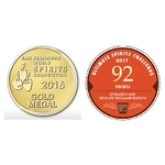 GRANDER Panama Rum 8 ans medaille