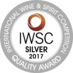 IWSC argent silver 2017