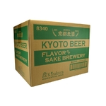 KYOTO BEER Flavor of Sake Brewery 4% | Pack 12 bouteilles | Bière Japonaise