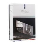 ARMORIK Classic Bio 46 % | Coffret Dégustation 2 Verres | Single Malt Whisky Breton