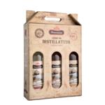 DAMOISEAU Cuvée du Distillateur | Coffret Découverte de Trois Rhums Agricole Vieux, Ambré et Blanc