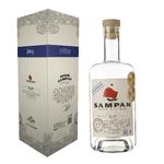 SAMPAN Overproof Pur Jus de Canne 54%   Rhum Blanc du Vietnam