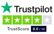 trustpilot 8,6 #2