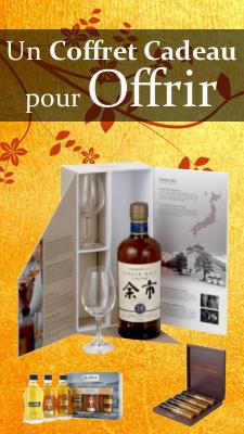 Coffret cadeaux whisky rhum